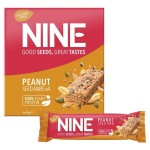 9 Nine Peanut & Pumpkin Seed Bars Multipack 4 x 40g