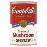 Campbell's Cream of Mushroom Condensed Soup 295g