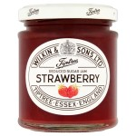 Tiptree Strawberry Reduced Sugar Jam 200g