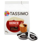 Tassimo Kenco 100% Colombian Coffee Pods 16 per pack