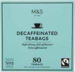 Marks & Spencer Decaffeinated Tea 80  Teabags