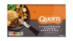 Quorn Frozen 2 Steak & Gravy Pies 400g