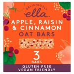 Deliciously Ella Apple, Raisin & Cinnamon Oat Bar Multipack 3 x 50g