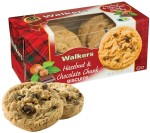 Walkers Hazelnut & Chocolate Chunk Biscuits 150g