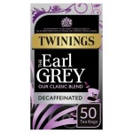 Twinings Earl Grey Decaffeinated Tea Bags 50 per pack