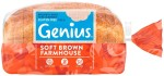 Genius Gluten Free Brown Sliced Bread 535g