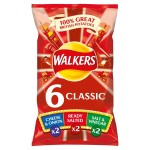 Walkers Variety Crisps 6 x 25g