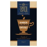 Tate & Lyle Amber Crystals Sugar For Coffee 500g