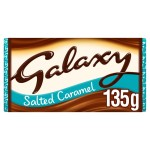 Galaxy Salted Caramel Milk Chocolate 135g