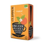 Clipper Organic Orange & Coconut Infusions 20 Bags