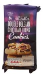 Marks & Spencer All Butter Double Belgian Chocolate Chunk Cookies 200g