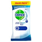 Dettol Antibacterial Surface Cleansing Wipes 70 per pack
