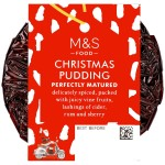 Marks & Spencer Delicately Spiced Christmas Pudding 100g