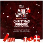 Marks & Spencer Made Without Wheat & Dairy Christmas Pudding 454g