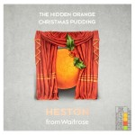 Heston from Waitrose Hidden Orange Christmas Pudding 1.2kg