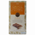 Marks & Spencer Swiss Chocolate Extra Fine Milk with Hazelnuts 200g