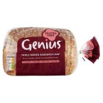 Genius Gluten Free Triple Seeded Sliced Bread 560g