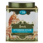 Harrods No. 16 Afternoon Ceylon Loose Leaf Tea Tin 125g