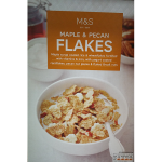 Marks & Spencer Maple & Pecan Flakes 375g