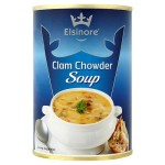 Spinnaker Elsinore Classic Soup Clam Chowder 400g