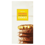 Milk Chocolate Chip & Orange Cookies Waitrose 150g