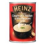 Heinz Cream of Chicken & Mushroom Soup 400g