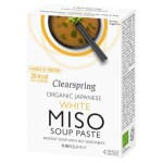 Clearspring Organic White Miso Instant Soup Paste 4 x 15g