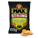 Walkers Max Strong Chilli & Lime Crisps 150g
