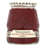 William's British Strawberry Conserve 340g
