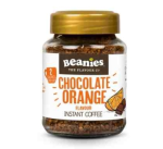 Beanies Chocolate Orange Instant Falvour Coffee 50g