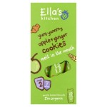 Ella's Kitchen Organic Yum Yummy Apple 'n' Ginger Cookies 108g