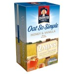 Quaker Oats So Simple Honey & Vanilla Porridge 10 x 33g