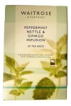 Waitrose Peppermint, Nettle & Ginkgo Infusion 20 Tea Bags