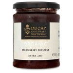 Duchy Originals Organic Strawberry Preserve Extra Jam 340g