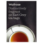 Waitrose Distinctively Fragrant 50 Earl Grey Tea Bags
