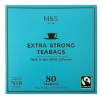 Marks & Spencer Extra Strong Herbata 80 Torebek No 3 Strong