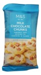 Marks & Spencer Love Baking Milk Chocolate Chunks 100g