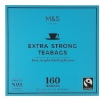 Marks & Spencer Extra Strong Herbata 160 Torebek