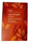 Marks & Spencer Spiced Apple Infusions 20 Teabgs