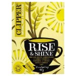 Clipper Rise & Shine Organic Mate, Lemongrass & Lemon Verbena Infusion 20 per pack