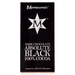 Montezuma's Dark Chocolate Absolute Black 100% Cocoa 100g