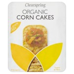 Clearspring Gluten Free Organic Corn Cakes 130g