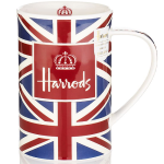 Harrods Crowning Glory Union Jack Ceramic Mug