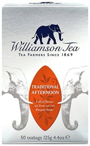 Williamson Tea Traditional Afternoon Kenyan Tea 50 Teabgas