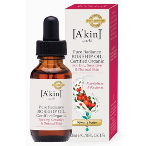 A'kin Pure Radiance Rosehip Oil Certified Organic 23ml