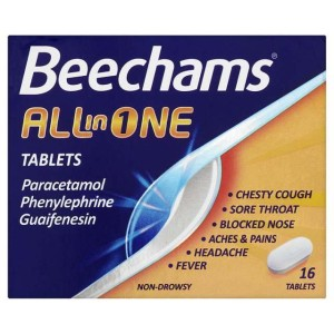 Beechams All-in-One Tablets 16 per pack