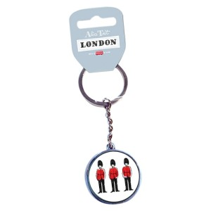 Alice Tait London Guards Keyring
