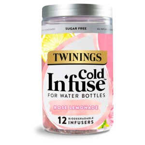 Twinings Cold In'fuse Rose Lemonade 12 Infusers