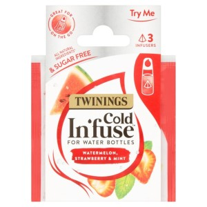 Twinings Cold In'fuse Watermelon Strawberry & Mint Trial Pack 3 Infusers