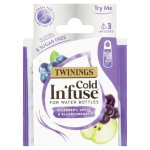 Twinings Cold In'fuse Blueberry Apple & Blackcurrant Trial Pack 3 per pack